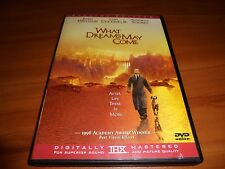 What Dreams May Come (Dvd, Widescreen 1999) Robin Williams Used Cuba Gooding Jr