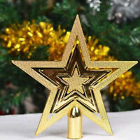 Christmas Star Tree Topper Decor Xmas Holiday Party Ornament Supplies Bauble New