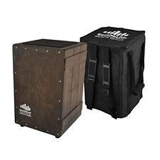 Echoslap Vintage Crate Cajon -Vintage Dark, Hand Crafted Siam Oak + Free Gig Bag