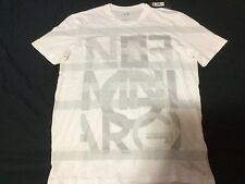 Designer AX Armani Exchange Mens White Muscle Fit Medium TShirt New With Tags