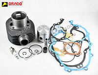 Vespa PX LML 150cc 3 Port Cylinder Piston Head Gasket Complete Kit - OE