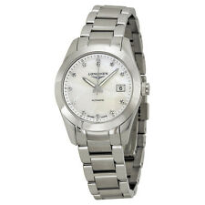 Longines Conquest Classic Automatic Mother of Pearl Dial Stainless Steel Ladies