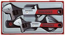 "Teng Tools 4 Piece Adjustable Spanner Wrench Set TTADJ04  6"" 8"" 10"" & 8"" Wide"