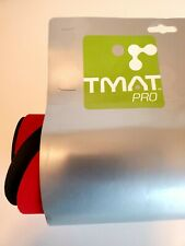 "Tmat Pro Transition Mat Red (20"" x 29"") for Triathalon- Sport- Workout"