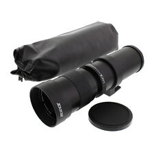 420-800mm F/8.3-16 Tele Lens For Nikon D5300,D60,D600,D610,D70,D700,D7000 Camera