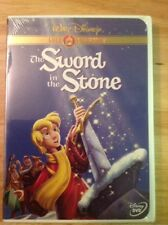 The Sword in the Stone (DVD,2001,Gold Collection Edition)NEW Authentic Disney