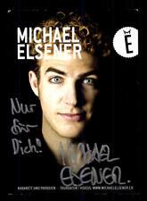 Michael Elsener Autogrammkarte Original Signiert # BC 110882