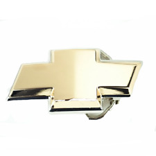 Chevrolet Belt Buckle Chevy Emblem Logo Classic Metal Truck Gold Chrome Gift
