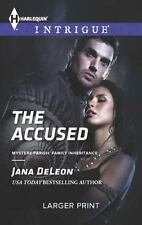 The Accused (Harlequin LP Intrigue)-ExLibrary