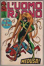 L' UOMO RAGNO corno N.58 MEDUSA ! 1972 the hulk dottor dr. strange inumani