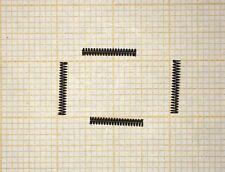 4 x Druckfeder, mini, Länge 9,5mm, Außen Ø1,4mm, Drahtstärke 0,2mm