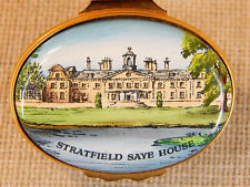 Halcyon Hinged Enamel Over Copper Hinged Trinket Box, Stratfield Saye House