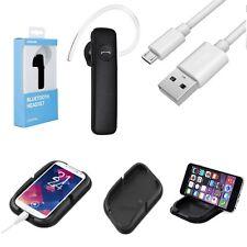 3in1 Auto Set Anti RutschMatte Bluetooth Headset BT1 Für Samsung Galaxy S2 i9100