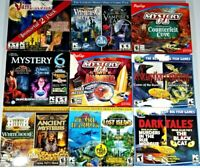 Lot of 9 PC Games, Total of 20 Complete Games
