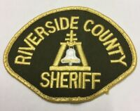 RARE Riverside County Sheriff Police Embroidery Patch Badge / Sew On Patch