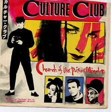 CULTURE CLUB (Boy George) -  Church of the poison mind - 7'' (45 tours) - JAPAN