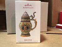 Hallmark 2019 Keepsake Beer Stein Ornament BRAND NEW Fast Shipping! Hard To Find