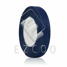 "50 Yards 1/4""6mm Sheer Organza Ribbon Craft Wedding Decoration DIY Navy Blue EB"