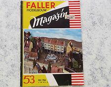 Faller  AMS --  Modellbau Magazin 53 von 1966, Sprache niederländisch