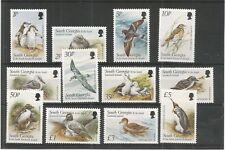SOUTH GEORGIA 1999 BIRDS SG,294-305 U/MINT LOT 7617A