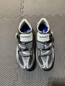 Shimano R087 Mens Road Shoes Size EU 44