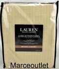 Ralph+Lauren+Bronze+Comfort+Classic+Cotton+FULL+%2F+QUEEN+Bed+Blanket+Taupe