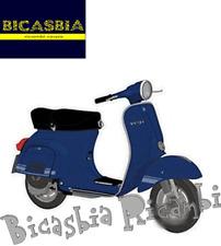 10625 - ADHESIVO PLACA 105X85 AZUL VESPA 125 ET3