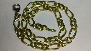 """Solid 18k gold 3.3mm bracelet 4.09 grams - 7.15"""" long"""