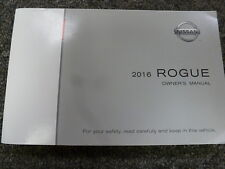 2016 Nissan Rogue SUV Owner Owner's Manual User Guide Book S SV SL AWD