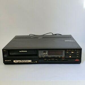 SONY Super Betamax Player Black SL-S2000 Video Cassette Recorder Tape Beta Max