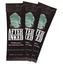 After Inked Non Petroleum Jelly Tattoos Piercings Tattoo Aftercare Vegan 7g X3