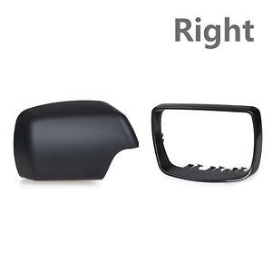 For BMW E53 X5 2000-2006 Right Passenger Side Mirror Cover Bezel Cap & Trim Ring