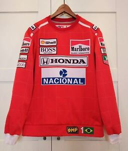 Sweatshirt collectible 1991 champion Ayrton Senna / McLaren Honda