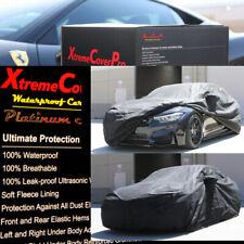 2015 BMW M4 CONVERTIBLE Waterproof Car Cover w/Mirror Pockets - Black