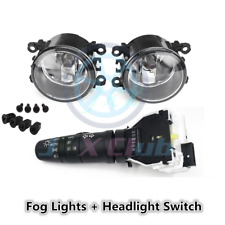 Fog Lights Lamps & Control Switch Kit o for Nissan Frontier / Xterra 2005-2019