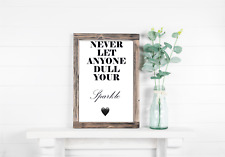 Motivational Quotes Inspirational Poster Wall Print Art Home Decor Picture A4 A5