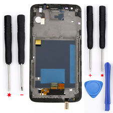 Black For LG Optimus G2 VS980 LCD Touch Screen Digitizer Frame Replacement Part