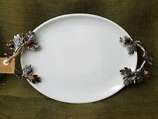 """Mud Pie """"Acorn Ceramic Platter"""""""