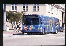 1990s  Photo slide School Miami Fl   Bus Downtown Route