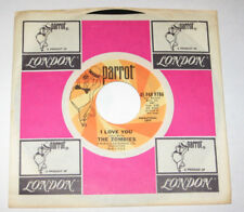 "The Zombies 7"" 45 DJ PROMO HEAR GARAGE PSYCH I Love You PARROT 9786 Whenever"