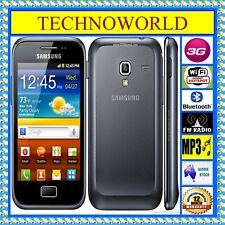 UNLOCKED SAMSUNG GALAXY ACE PLUS S7500T◉3G WIFI◉512MB/3GB◉ANDROID◉BLUETOOTH◉GPS
