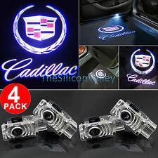 4x LED Logo Door Courtesy Light Shadow Laser Projector for Cadillac XTS SRX ATS