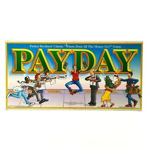 Vintage Payday Board Game Parker Brothers 1994 Pay Day - 100% Complete