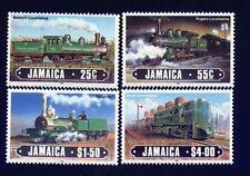 Jamaika 1603/08 Lokomotiven postfrisch