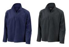 RESULT Fleecepullover 1/4 Zip Herren Fleece Pullover Raglan XS-3XL R112X NEU