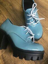 Unusual Colour Block Heel Shoes 3