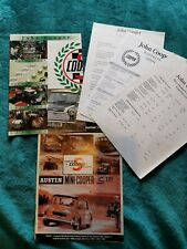 Classic John Cooper Works 1994 Catalogue With Extras