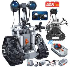 ERBO 408PCS City Creative RC Robot Electric Building Blocks Technic remote