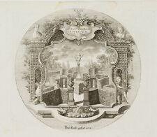 PROBST(*1721), Emblem, Amor im Liebesgarten, Cupido, Ovid, um 1750, KSt