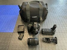 Canon EOS 70D 20.2MP DSLR Camera with nifty 50mm pancake lens - WORKS PERFECT!